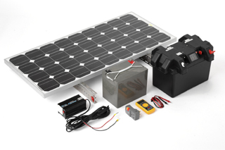 kit camper pannelli solari